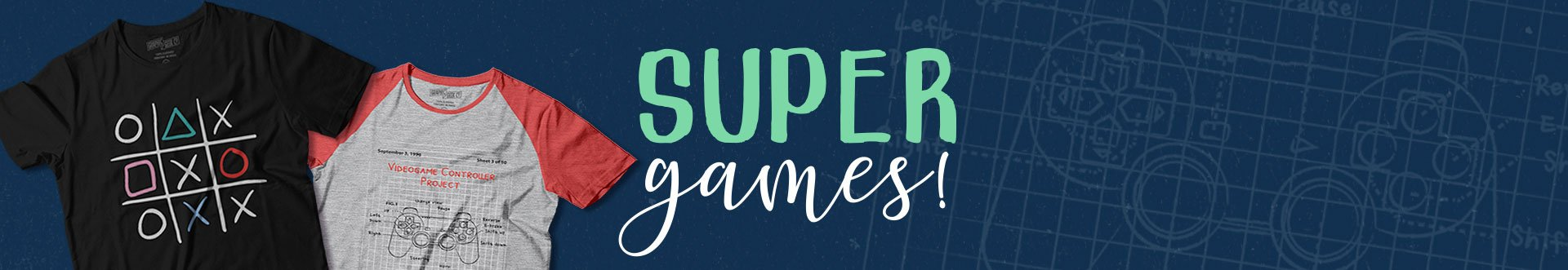 Banner Página Super games - Geek